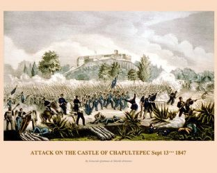 Chapultepec - Attack on the Castle